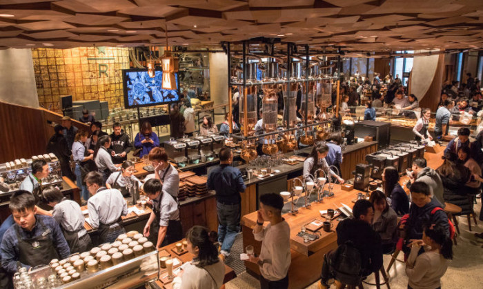Starbucks opens world's largest Reserve Roastery in Shanghai